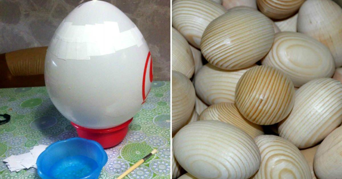 как декорировать яйца