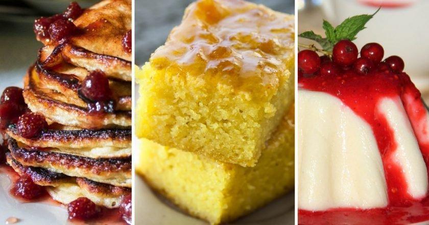 Десерты из манки