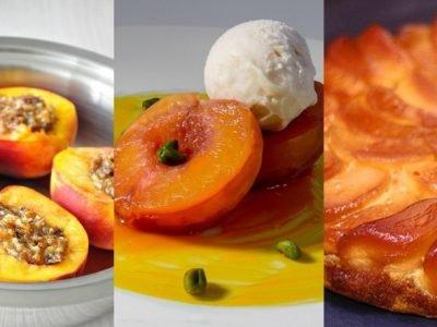 Десерты из персиков