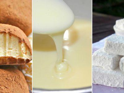 Десерты из сухого молока