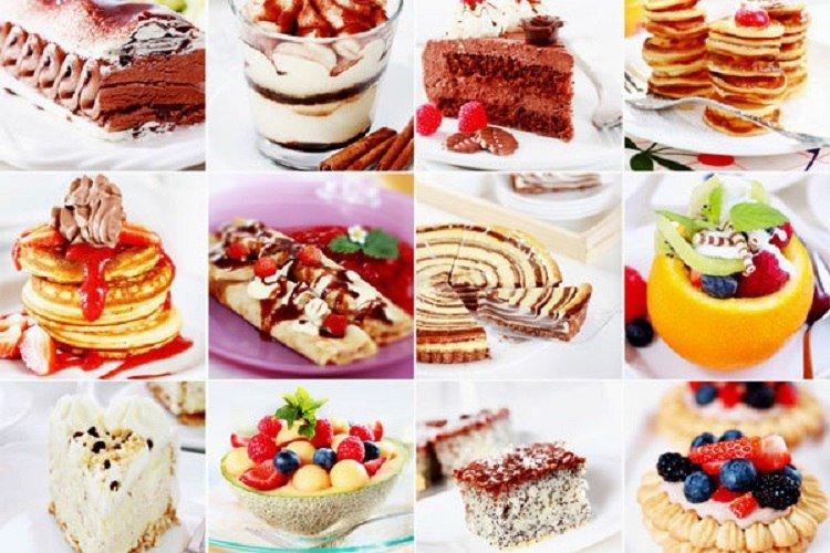 десерты разных стран