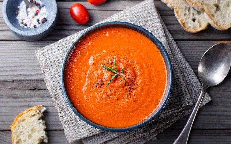 томатный суп пошагово