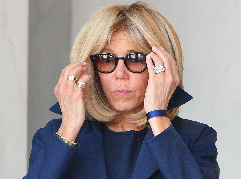 супруга президента Франции