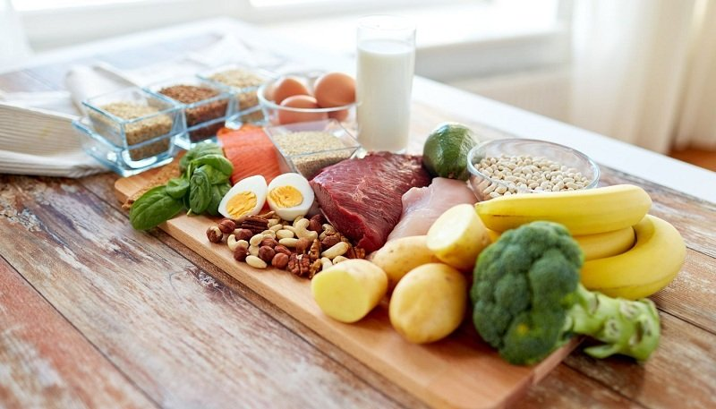 продукты на столе фото