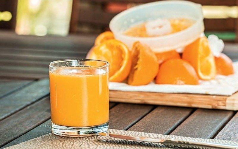 домашний апельсиновый фреш