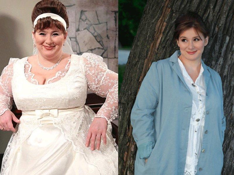 Актриса похудела до и после
