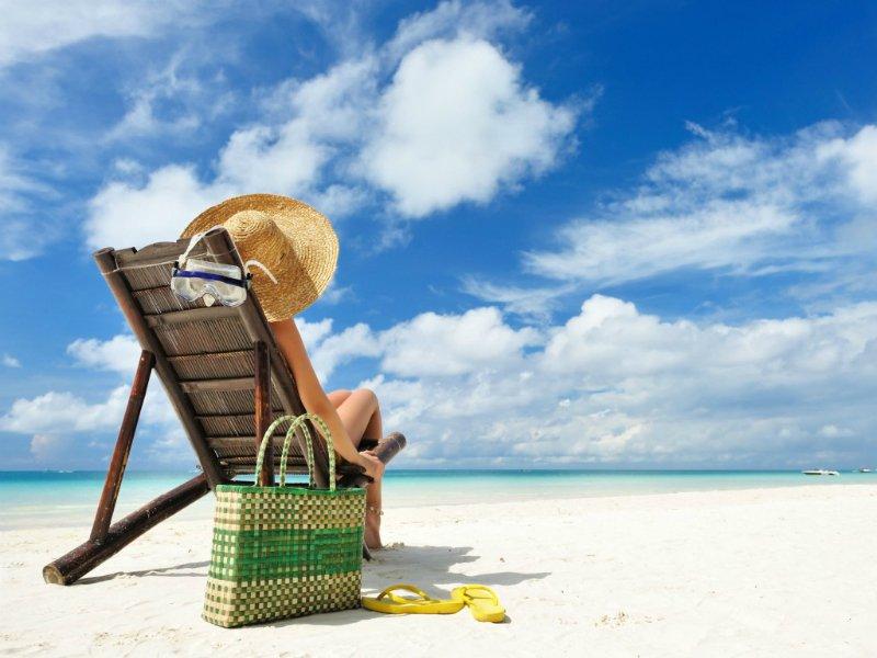 príprava na plážovú sezónu