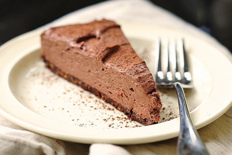 шоколадный чизкейк низкокалорийный