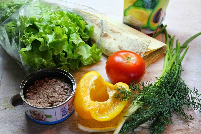 диетические начинки для лаваша