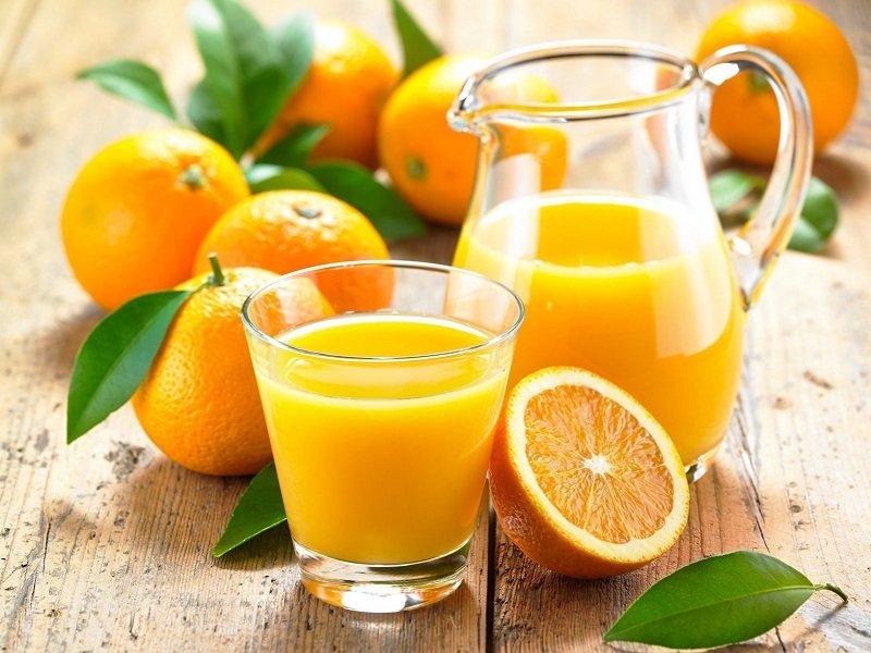сок на завтрак