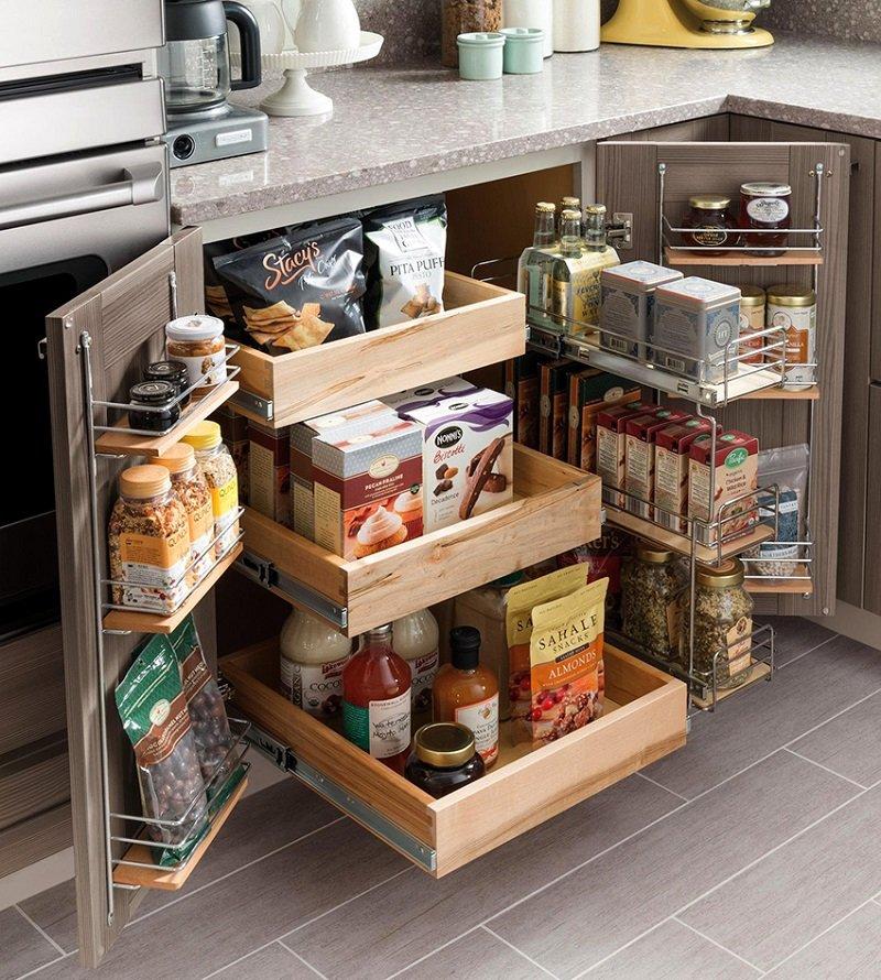 Фото порядка на кухне