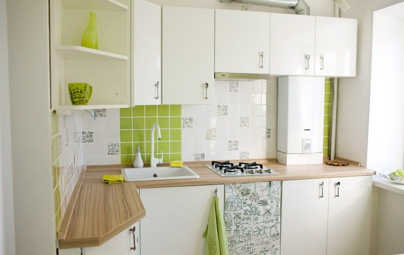 Дизайн кухни площадью 4 квадратных метра