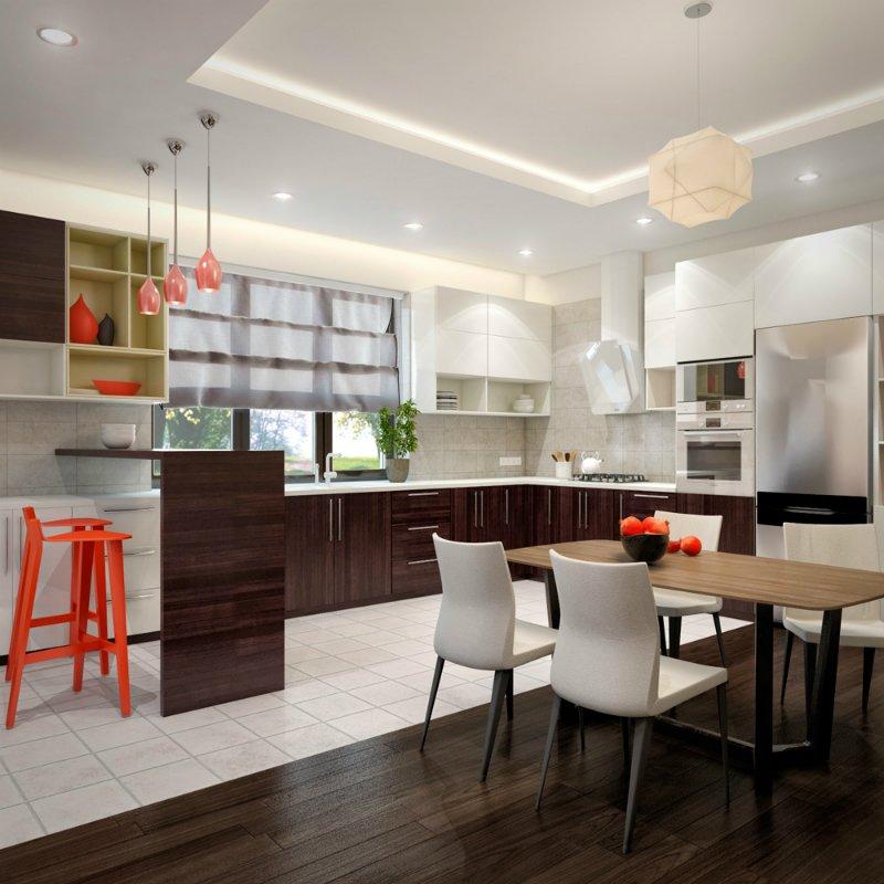 картинки кухни в студии фото