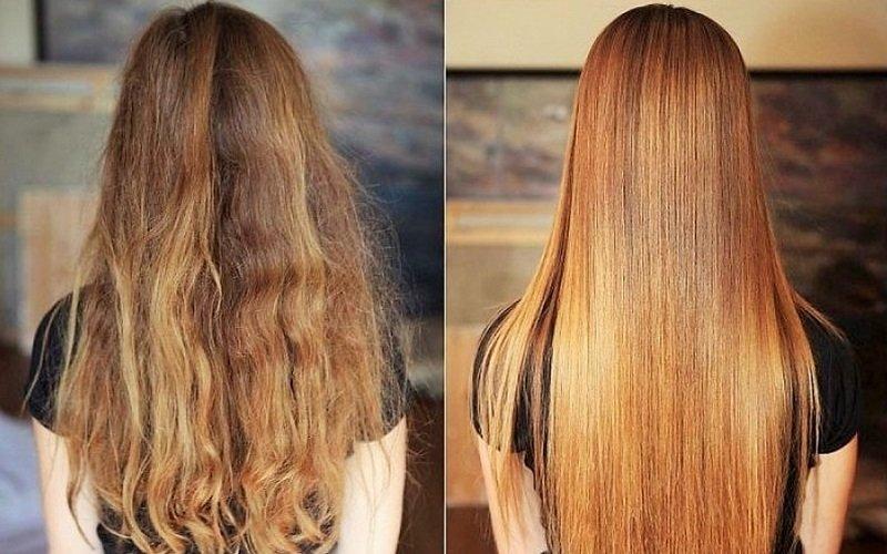Домашнее выпрямление волос - Со Вкусом