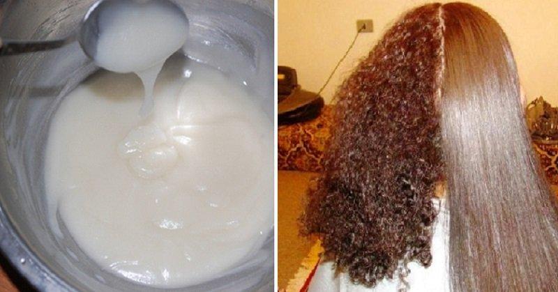 домашнее выпрямление волос