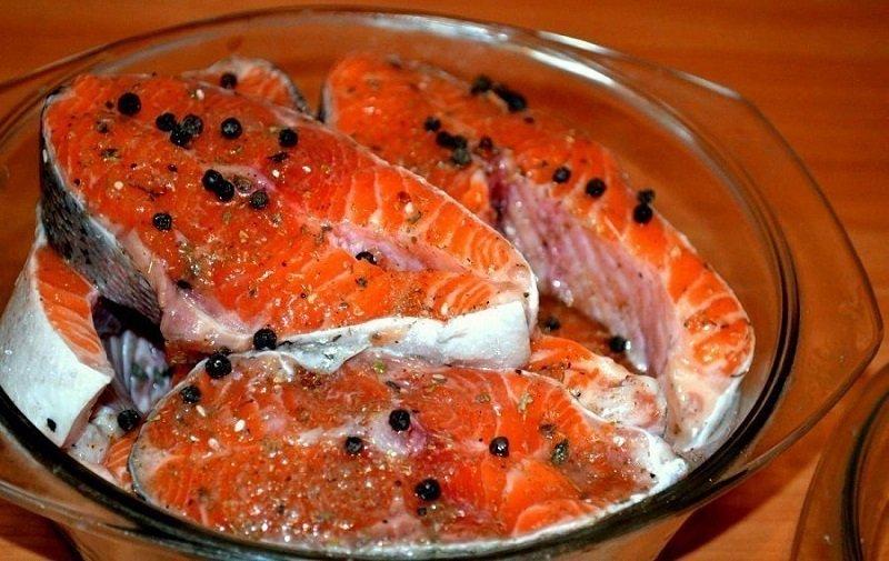 как замариновать рыбу