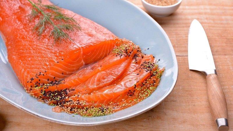как замариновать морепродукты
