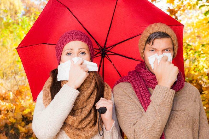 грипп и простуда осенью