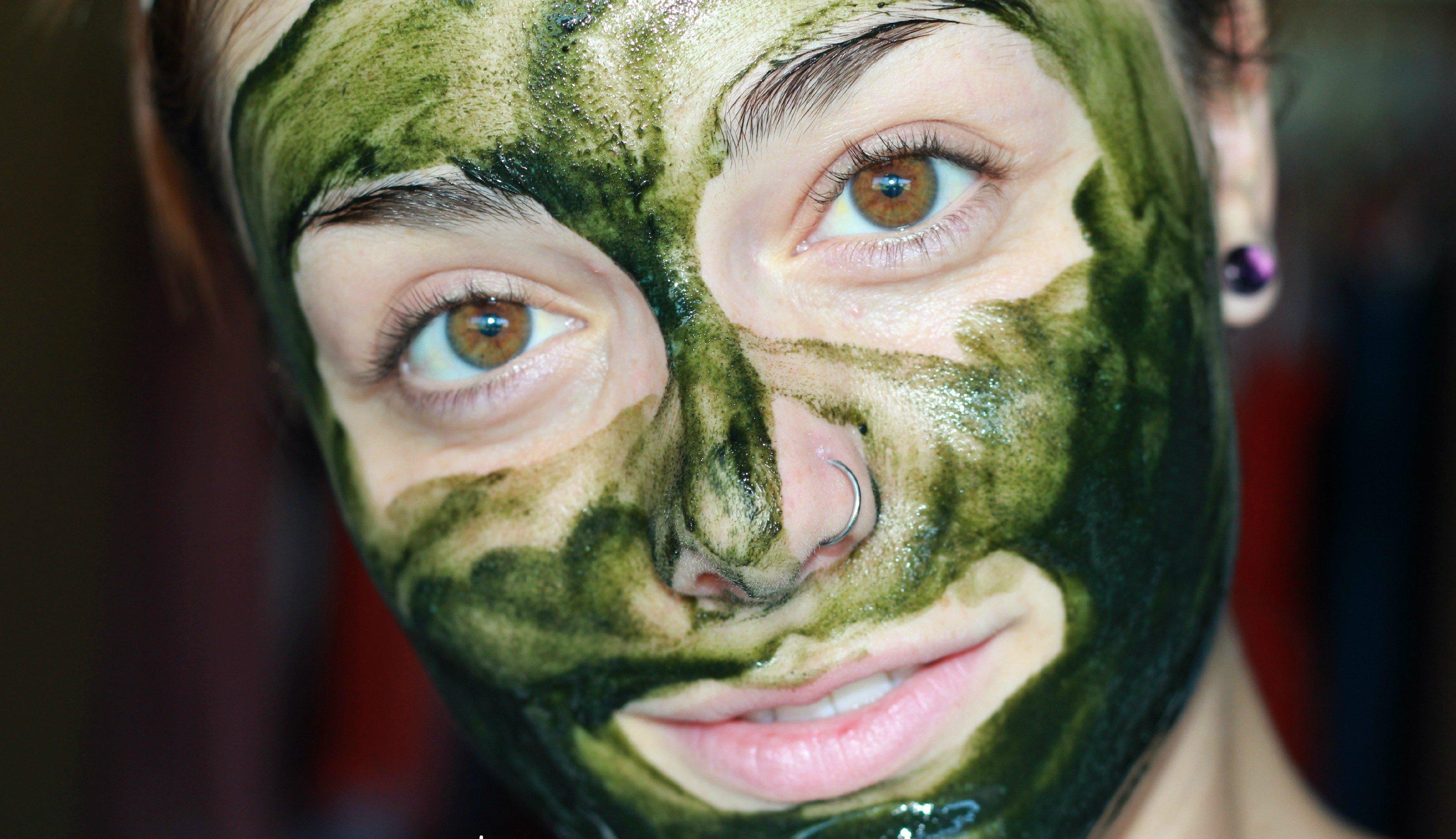 маска со спирулиной