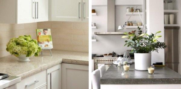 дорогой интерьер кухни