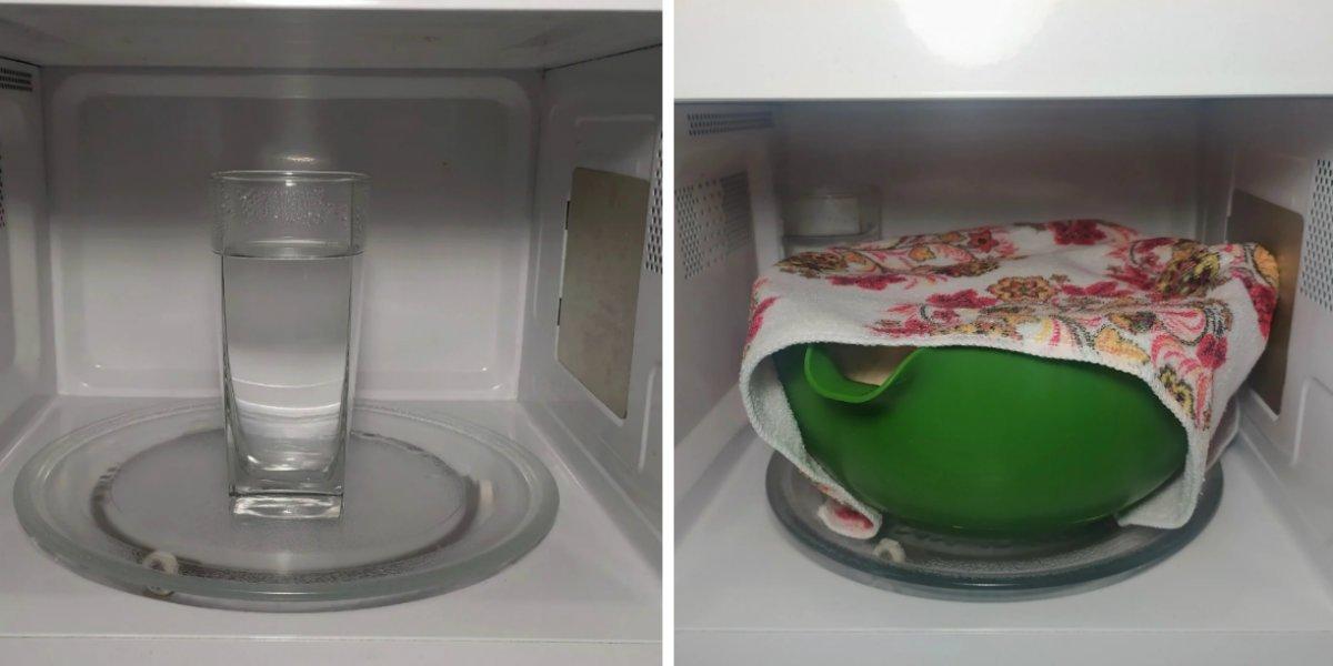 почему дрожжевое тесто в микроволновке