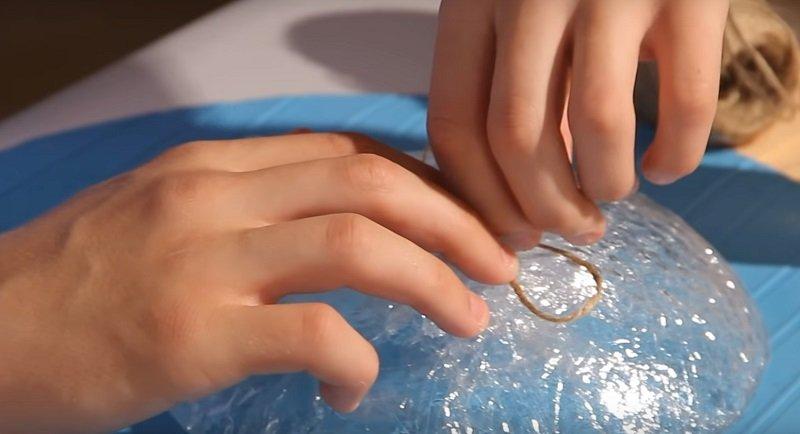 лепестки из нитки