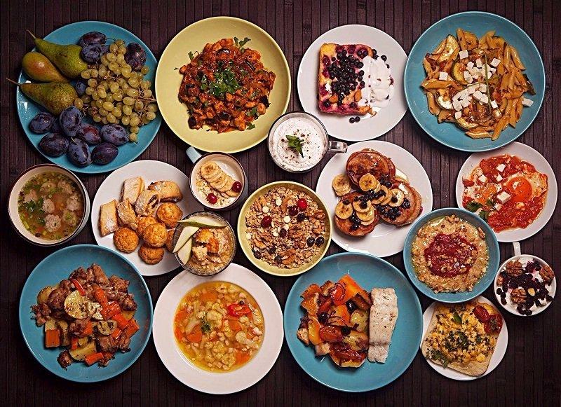 еда и характер мужчины