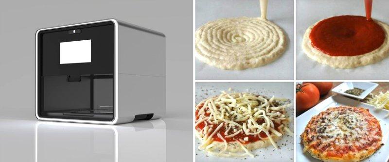 еда из принтера