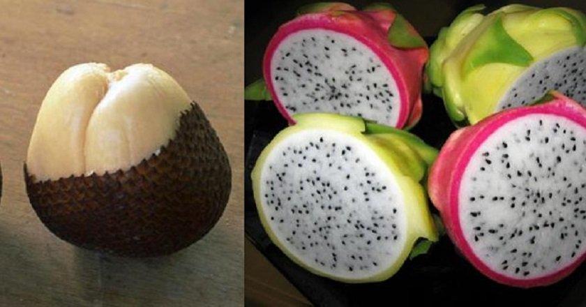 топ-14 экзотических фруктов