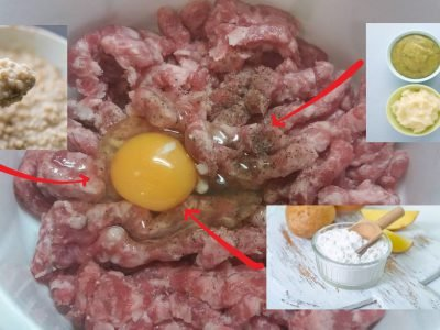 Фарш без яиц