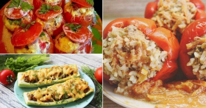 овощи с начинкой