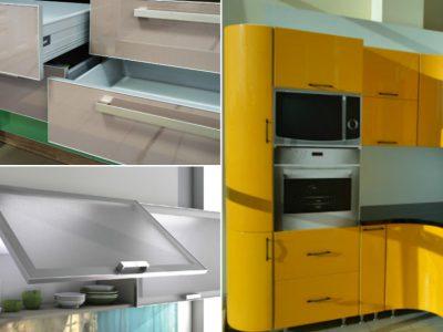 Стильный фасад кухонного гарнитура