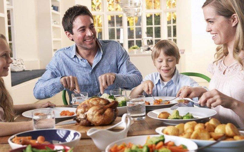 меню семейного ужина