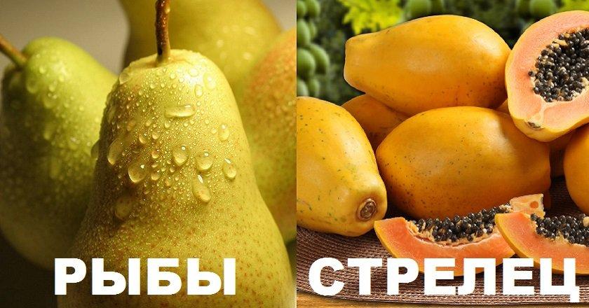 фрукт по гороскопу