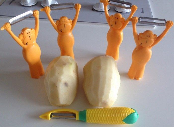 чистка картофеля фото