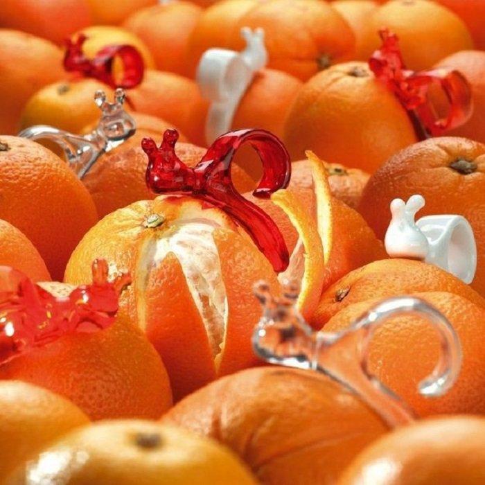 чистка апельсинов фото