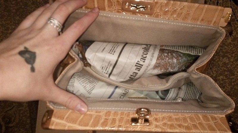 как сохранить форму сумки