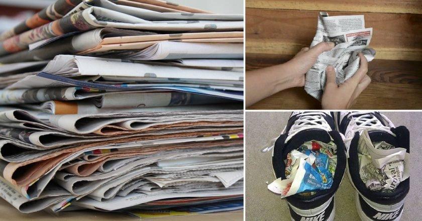 Газеты в быту