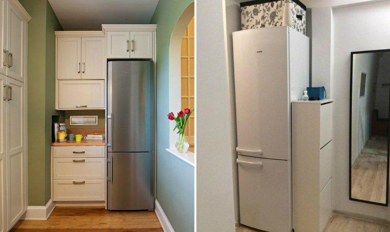 где разместить холодильник