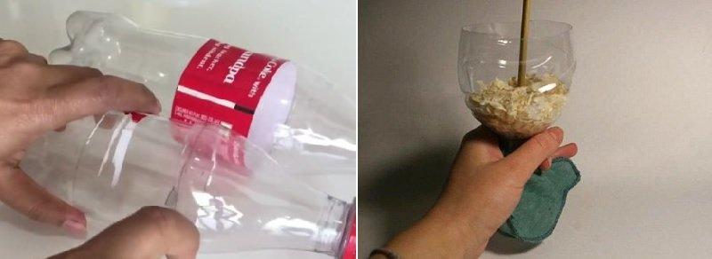 лейка из бутылки