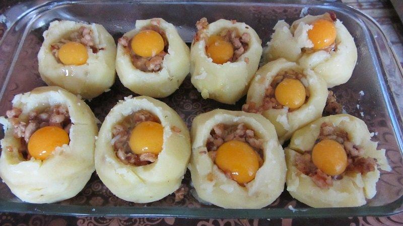nadziewane ziemniaki zdjęcie