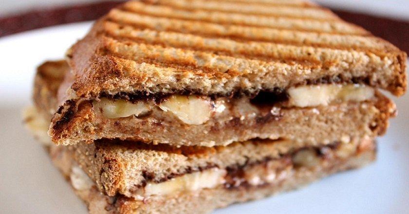 горячие бутерброды с шоколадом