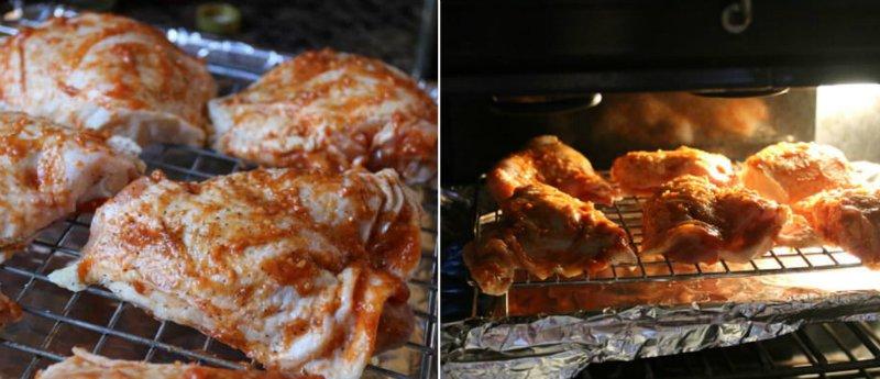 куриные бедра гриль в духовке
