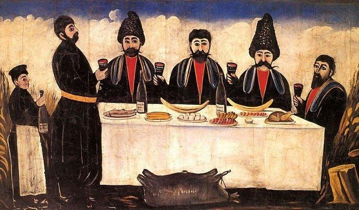 Грузинское застолье, традиции
