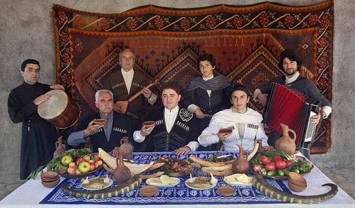 Грузинское застолье, праздник
