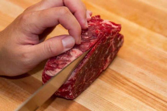 нарезка мяса фото