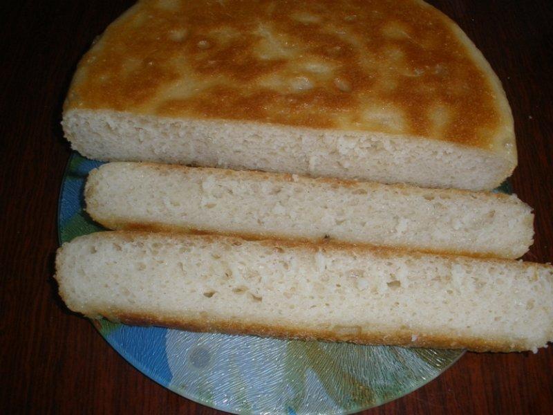 хлеб в сковороде
