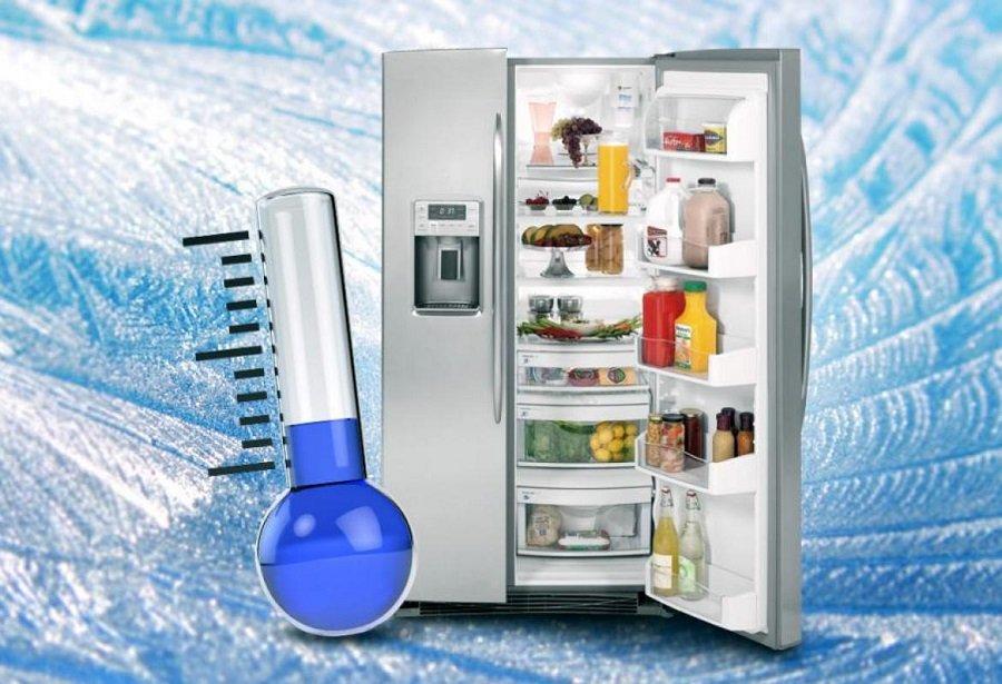 температура в морозилке
