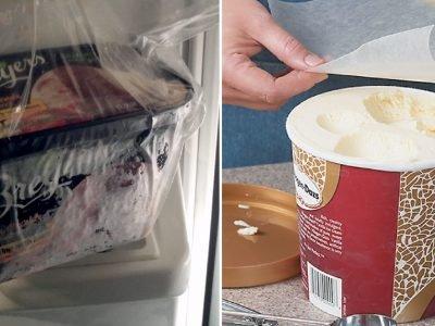 Хранение мороженого