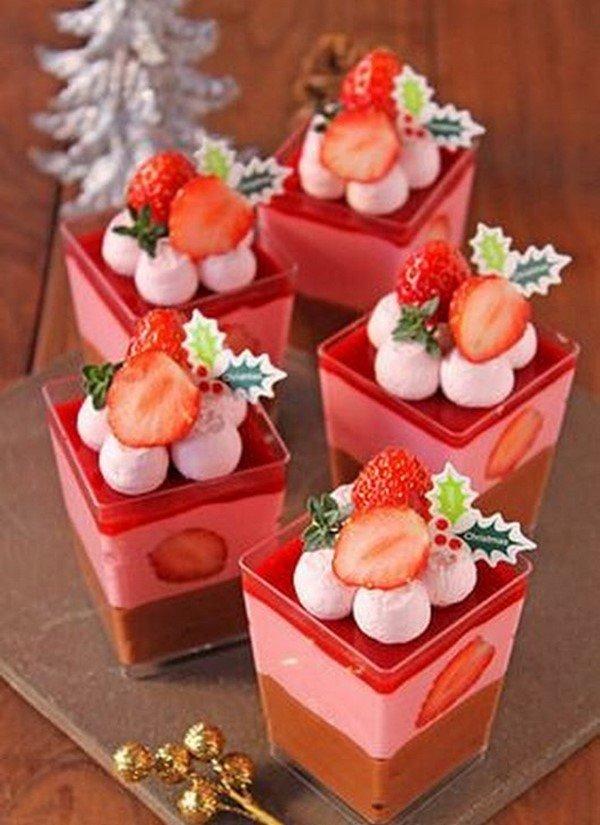 Идеи десертов с клубникой